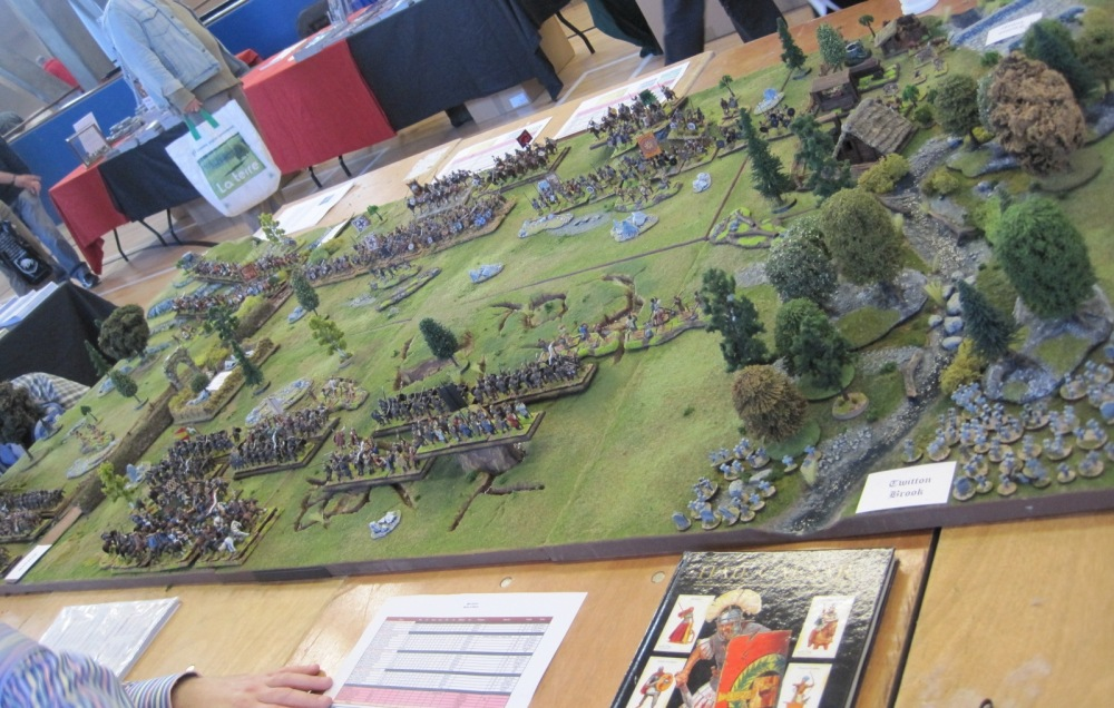 The First Battle of Otford (at the SELWG Open Day) (3/6)