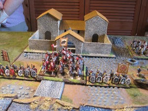 Fullofaudes in the Roman Centre defending the ford
