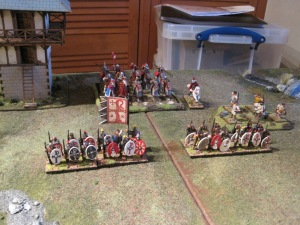 Theodosius the Younger leads the Cataphracts