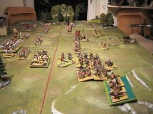 Barbarian advance