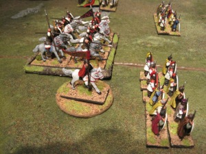 Magnus leads the cavalry forward