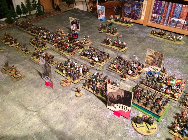 The Scots hold their ground