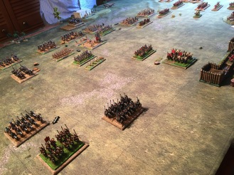 The Roman cataphracts are destroyed but the heavy cavalry push back!