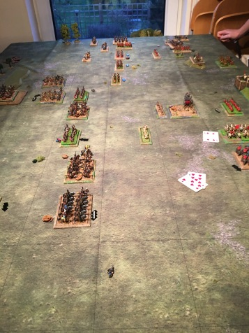 Finally it comes down to the last victory point. The romans manage to hold onto their last two on the. Persian turn whilst on their turn they are able to inflict the final victory point losses onto the Persians bringing them to zero and claiming an unexpected victory.